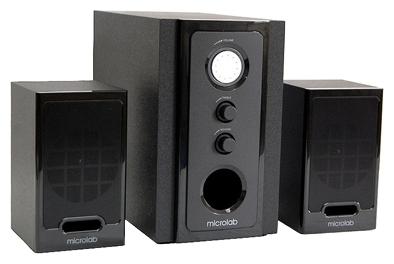 Компьютерная акустика Microlab M-528, черная M-528 черный