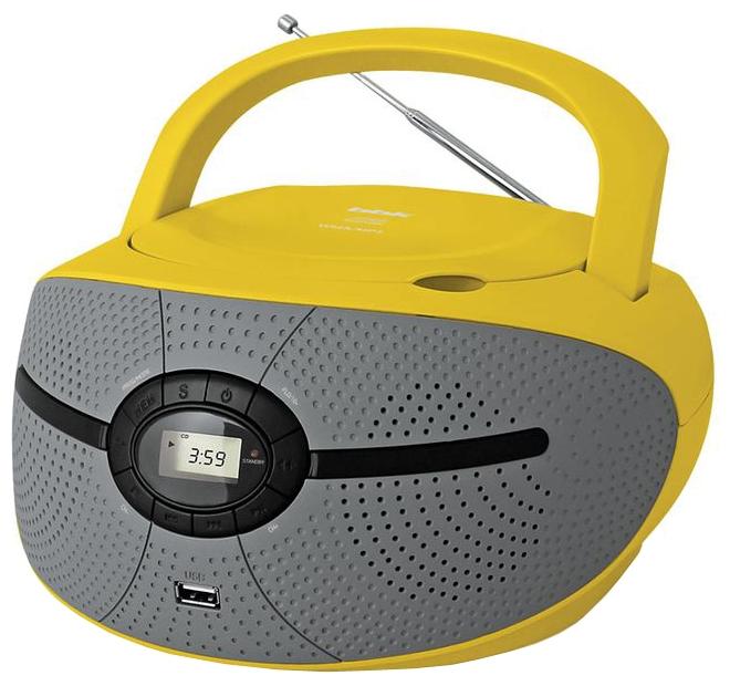 Магнитола BBK BX195U, желтая