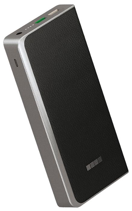 Аксессуар для телефона InterStep Внешний аккумулятор PB12000QC (12000 mAh), черный IS-AK-PB1208QCB-000B210