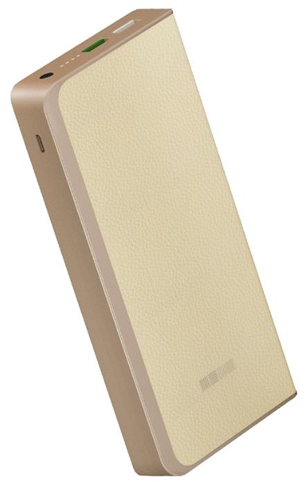 Аксессуар для телефона InterStep Внешний аккумулятор PB12000QC (12000 mAh), бежевый IS-AK-PB1208QCW-000B210