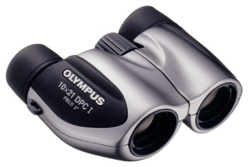 Бинокль Olympus 10x21мм DPC I, серебристый17064)