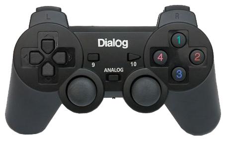 Геймпад Dialog GP-A11RF, черный
