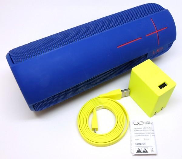 Портативная акустика Logitech Ultimate Ears Megaboom (Bluetooth, стерео), синяя 984-000479