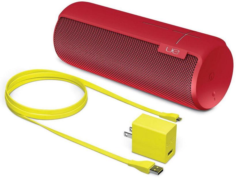 Портативная акустика Logitech Ultimate Ears Megaboom (Bluetooth, стерео), красная 984-000485