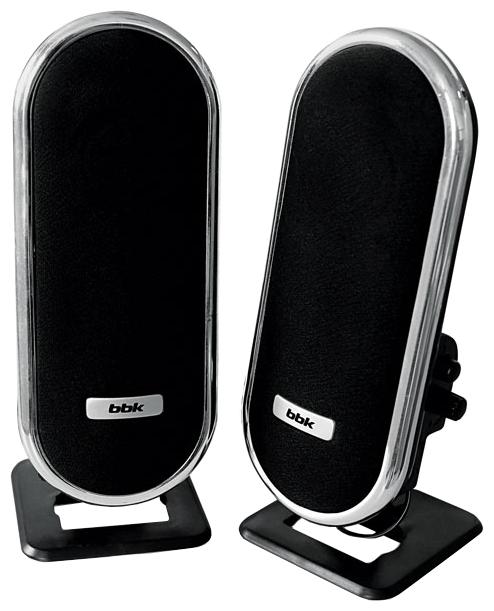 Компьютерная акустика BBK CA-193S, черно-серебристая