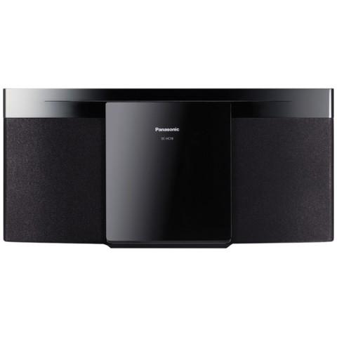 Музыкальный центр Panasonic SC-HC19EE-K, черный