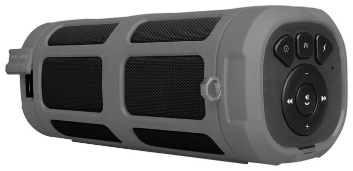 Портативная акустика InterStep SBS-160, серая IS-LS-PBSBS160G-000B201