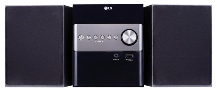 Музыкальный центр LG CM1560, черный