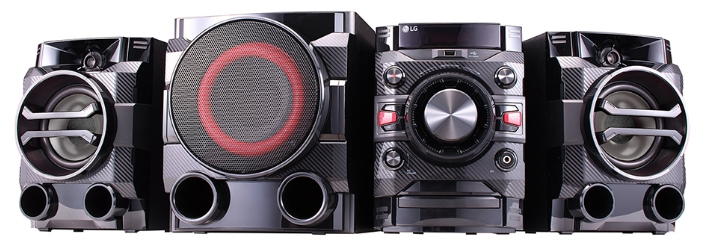 Музыкальный центр LG Mini DM5660K, черный