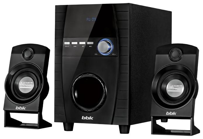 Компьютерная акустика BBK CA-216S, черная