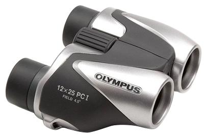 Бинокль Olympus 12x25 PC I, серебристый 18963