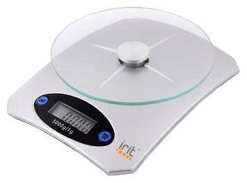 Кухонные весы IR-7118 (стекло/пластик) IRIT-7118