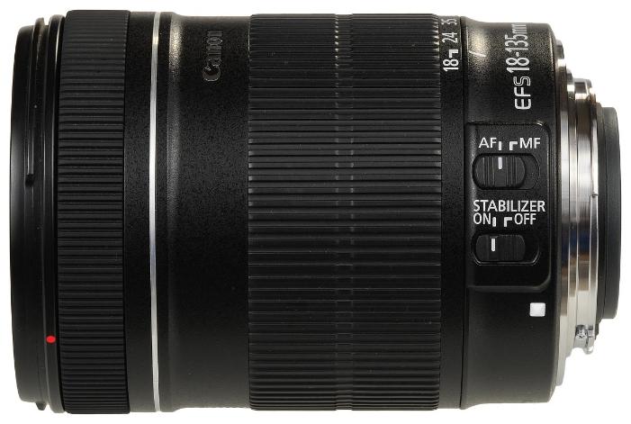 Объектив для фото Canon EF-S 18-135mm f/3.5-5.6 IS (стандартный) 3558B005