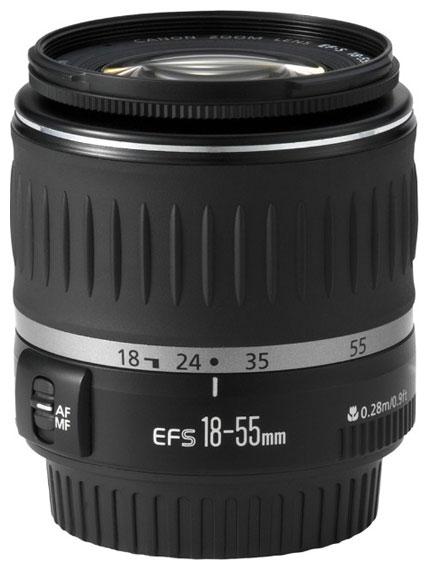 Объектив для фото Canon EF-S 18-55MM 3.5-5.6 (стандартный) 5121B005