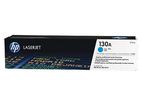 Картридж HP 130A Голубой ( для LaserJet M153/M176/M177) [1000 станиц] CF351A
