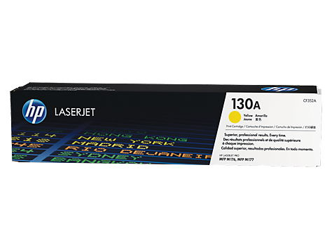 Картридж HP 130A Желтый ( для LaserJet M153/M176/M177) [1000 страниц] CF352A