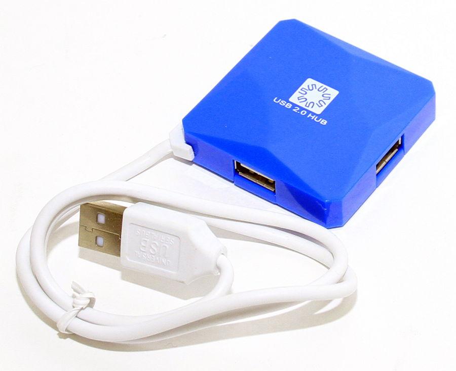USB концентратор 5bites HB24-202BL BLUE