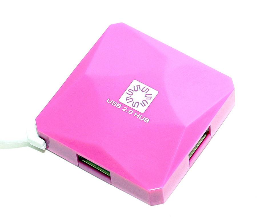 USB концентратор 5bites HB24-202PU PURPLE
