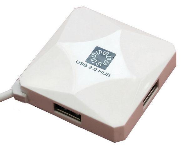 USB концентратор 5bites HB24-202WH WHITE