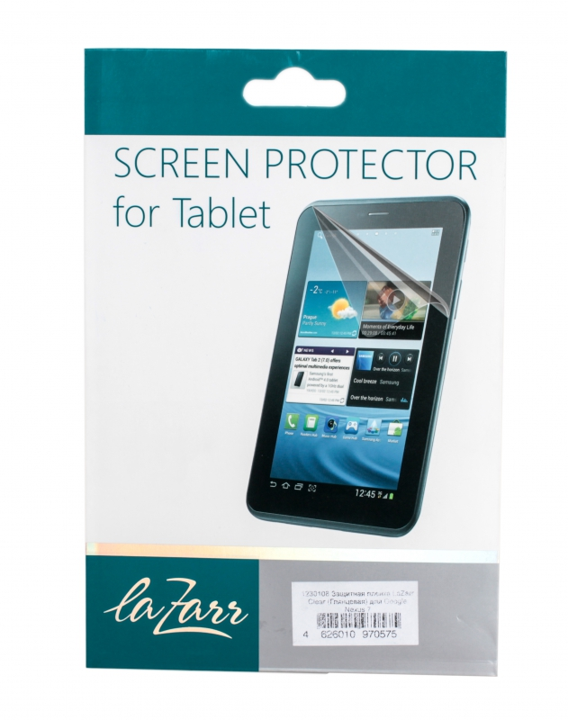 LaZarr Clear для Google Nexus 7 Glare
