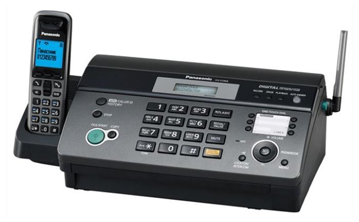 Факс Panasonic KX-FC968 RU, черный KX-FC968RUT
