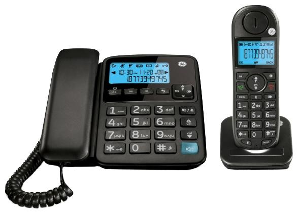 Радиотелефон General-Electric 30554, черный RU30554FE2