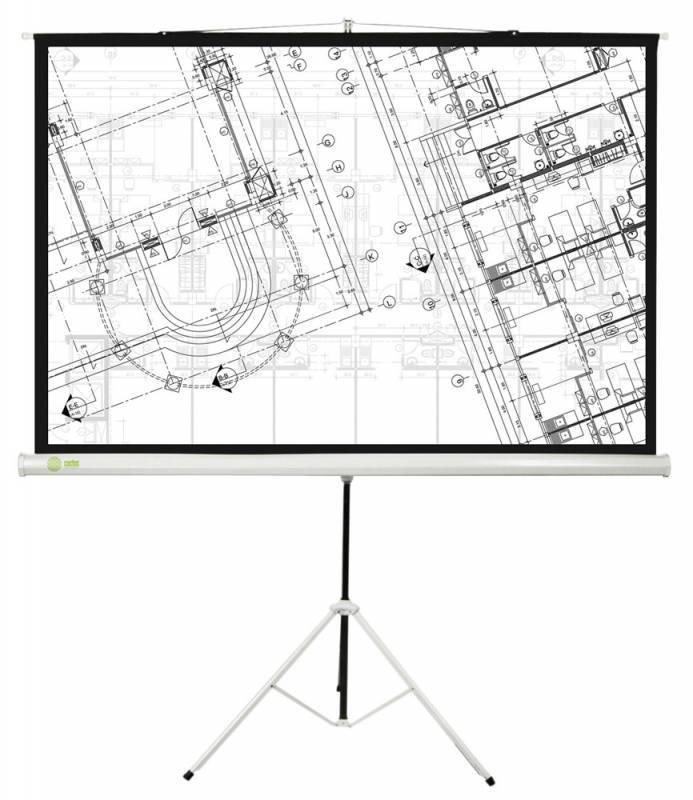 Экран CACTUS Triscreen 127x127 см CS-PST-127X127