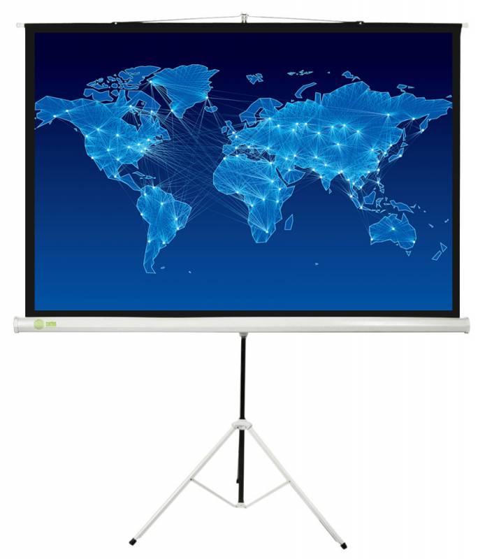 Экран CACTUS Triscreen (150x150 см) белый CS-PST-150x150