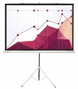 Экран CACTUS Triscreen 180x180 см CS-PST-180x180