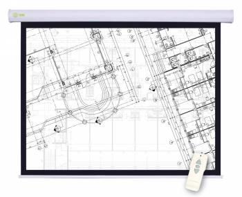 Экран CACTUS 180x180см Motoscreen CS-PSM-180x180