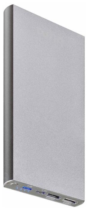 Аксессуар для телефона BURO Мобильный аккумулятор RA-12000-AL 12000 мАч, серебристый