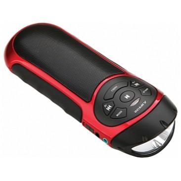 Портативная акустика SUPRA PAS-6277, красная PAS-6277 red