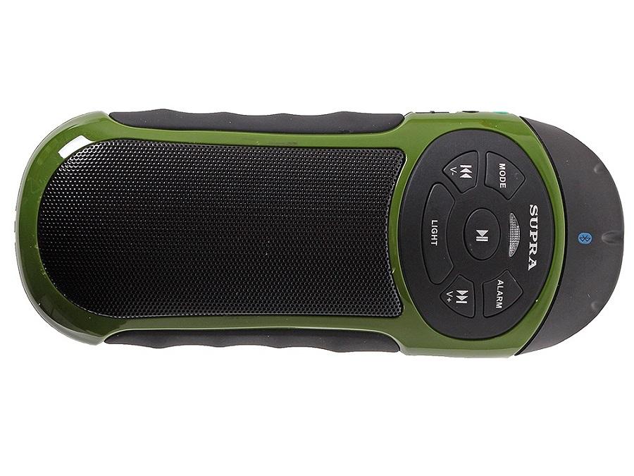 Портативная акустика SUPRA PAS-6277, зеленая PAS-6277 green