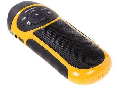 Портативная акустика SUPRA PAS-6277, желтая PAS-6277 yellow