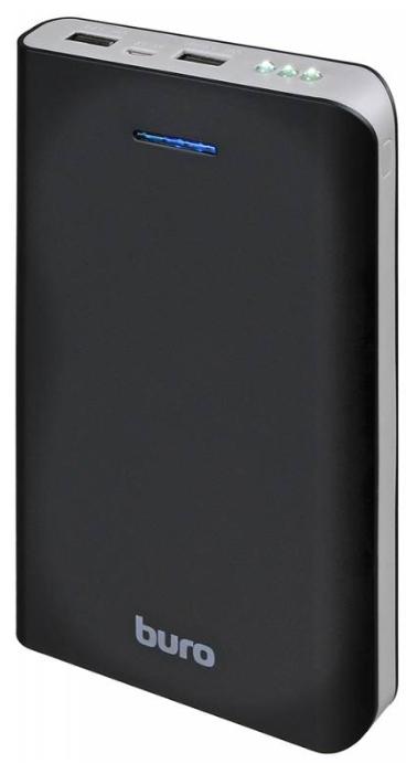 Аксессуар для телефона BURO Мобильный аккумулятор RA-25000 (25000 mAh), черный/темно-серый