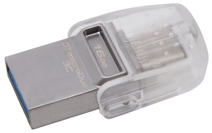 Usb-флешка Kingston DataTraveler microDuo 3C 16GB DTDUO3C/16GB