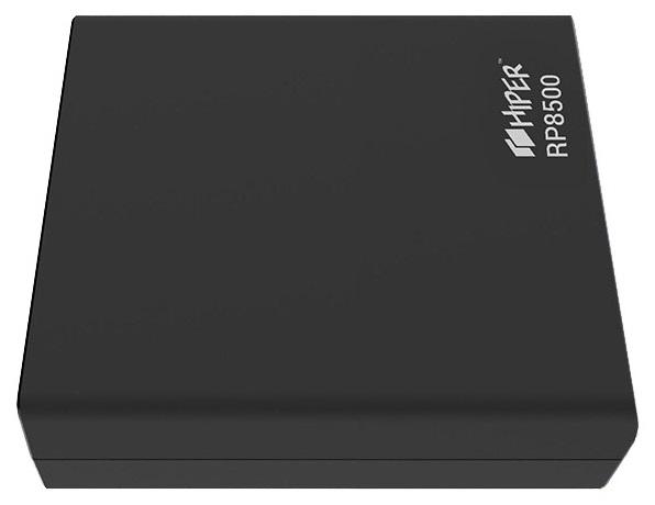Аксессуар для телефона Hiper Внешний аккумулятор RP8500, черный RP8500 Black