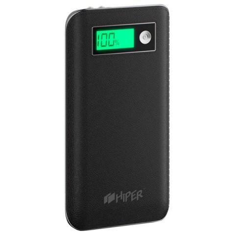 Аксессуар для телефона Hiper Внешний аккумулятор SPS6500 (6500 mAh), черный SPS6500 BLACK