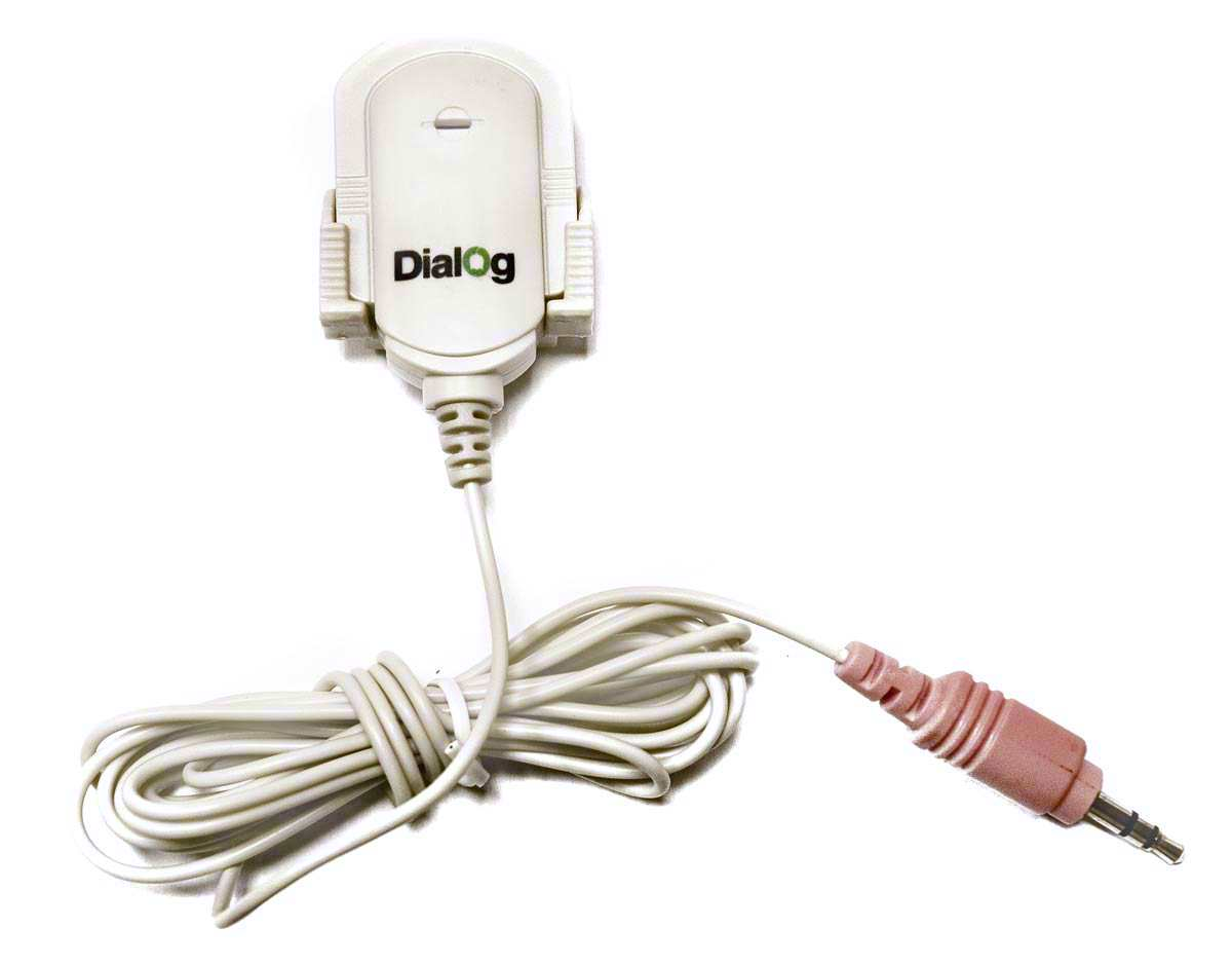 Микрофон для пк Dialog M-100W белый
