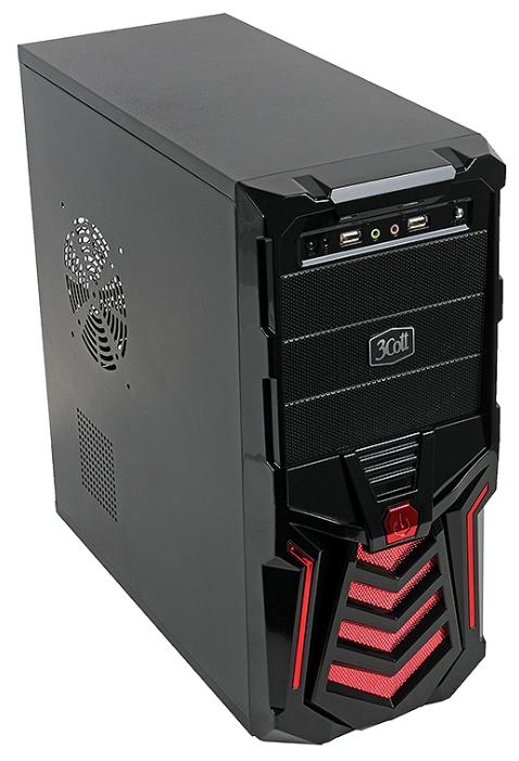 Корпус 3Cott 3C-ATX110GR 500W, Black