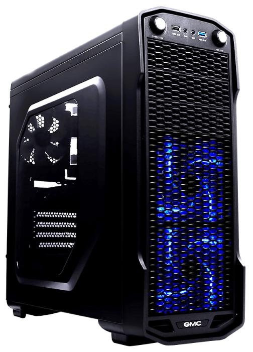 Корпус GMC T360 w/o PSU, черный 267561