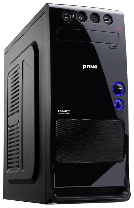 Корпус GMC Pang w/o PSU, Black 267531