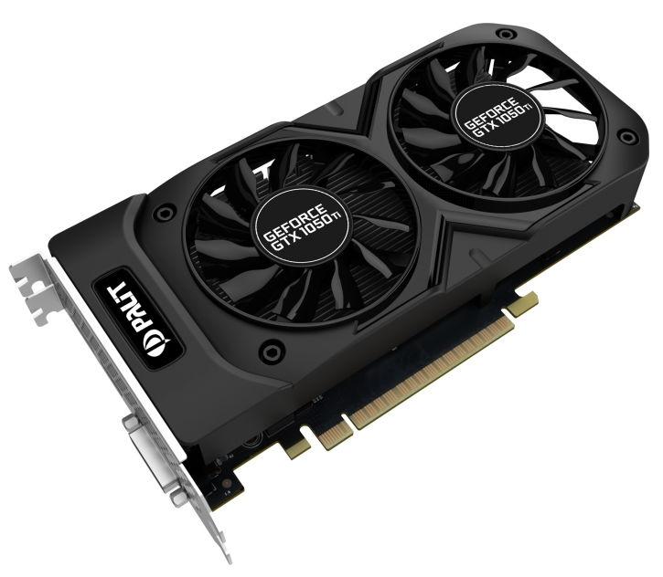 Видеокарта GeForce Palit GeForce GTX 1050 Ti 1366Mhz PCI-E 3.0 4096Mb 7000Mhz 128 bit DVI HDMI HDCP, StormX Dual OC 4G (NE5105TS18G1-1071D)