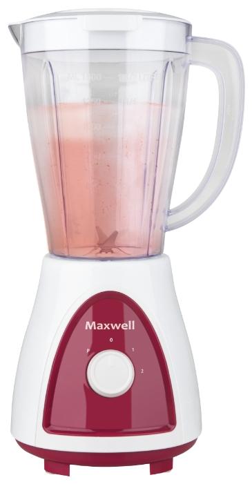 Блендер Maxwell MW-1171 BD, бордовый MW-1171 BD (бордовый)