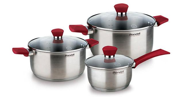 Набор посуды Rondell RDS-817 (нержавейка)