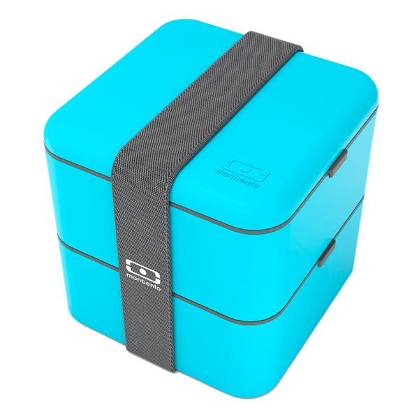 Контейнер для продуктов Monbento Контейнер Square (для продуктов) голубой 1200 03 004