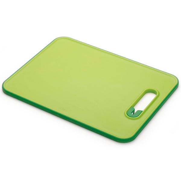 Разделочная доска Joseph-Joseph Slice & Sharpe зеленая 60047 Green
