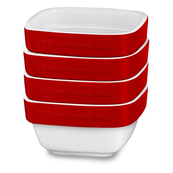 Набор посуды KitchenAid (керамический) KBLR04RMER красный