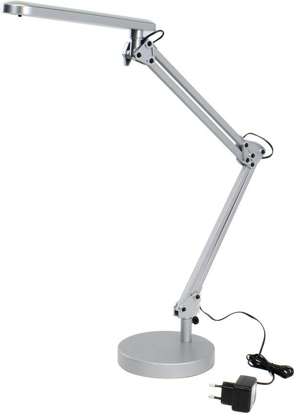Светильник настольный ERA NLED-440-7W-S серебристый