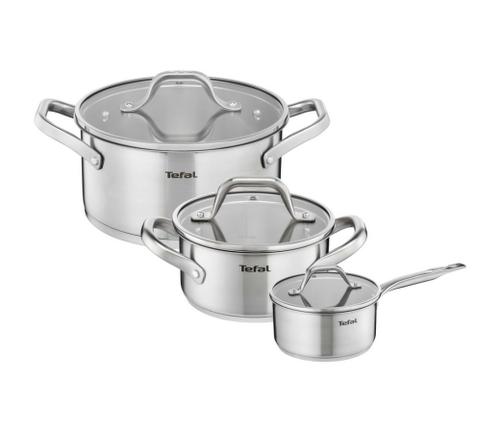 Набор посуды Tefal Hero E825S374 нержавеющая сталь 2100084989